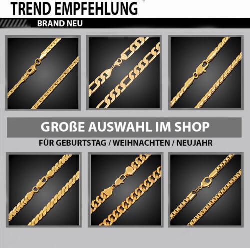 18k cadena de oro tanques cadena dorado 60cm espesor señora para hombres señores collar
