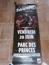 TOKIO HOTEL - PARC DES PRINCES!!!!Affiche promo / French promo poster !!!!!!!!!