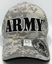 US ARMY Camouflage Cap Hat Digital Camo United States Military OSFM Licensed NWT
