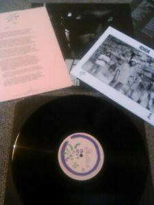 ADIOA - SOWETO MAN LP + INSERT, PROMO SHEETS & PROMO PHOTO EX!!! UK 1ST PRESS