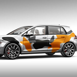 Aufkleber Camouflage Stealth Flecken Tarnmuster Auto Dekorset Tuning