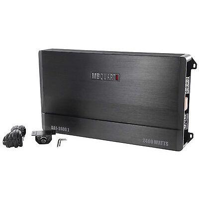 MB Quart DA1-2400.1 2400 watt RMS Mono Class D Car Audio Amplifier Discus Amp