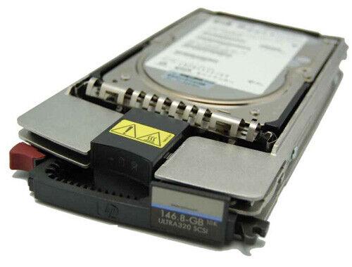 """HP 146gb 10k u320 sca2 SCSI 3.5"""" HDD disco duro LFF // bd14687b52"""