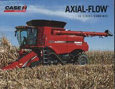 "CASE IH Axial-Flow ""40 Series"" Combine Brochure Leaflet"