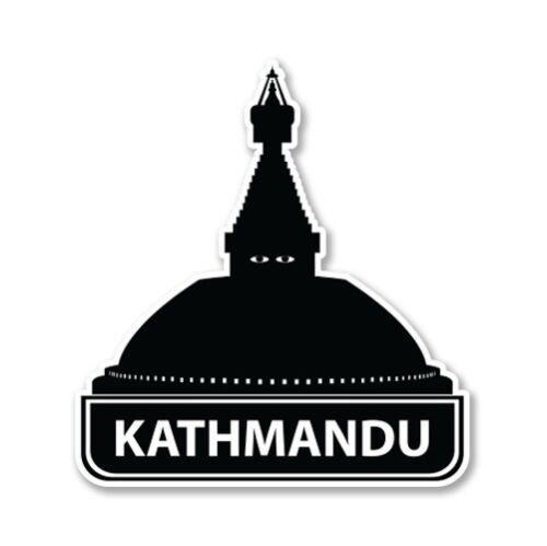 Kathmandu Nepal Car Laptop Phone Vinyl Sticker SELECT SIZE