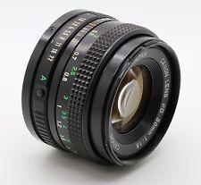 Canon FD Lens f/1.8 50mm Vintage Camera SLR Prime Lens Made in Japan WORKS GREAT