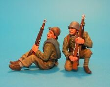 John Jenkins Designs Soldiers REP-01B Spanish Civil War Tank Riders No 1 1/30
