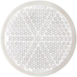 Reflektor Katzenauge Rückstrahler Chip 41 mm HR Art. 13886 klar weiss