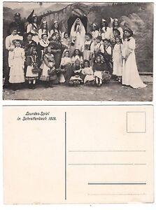 Schrattenbach-Markt-Dietmannsried-Allgaeu-Kinder-inTracht-beim-Lourdes-Spiel-1909
