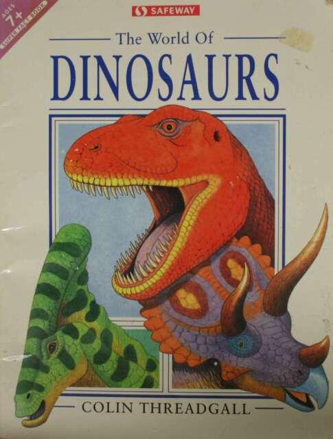 Dinosaurs, Threadgall, Colin, Very Good Book