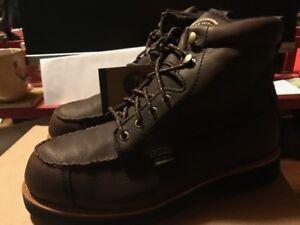 Irish Setter WINGSHOOTER 807 Mens Dark Brown Leather Waterproof Boots