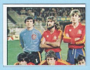 FIGURINA-CALCIATORI-PANINI-EURO-84-RECUPERO-N-207-SQUADRA-ESPANA