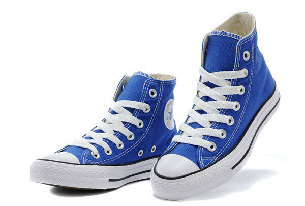 Chuck Taylor All Star Converse Ct HI Light Sapphi Unisex scarpe da ginnastica 147129F
