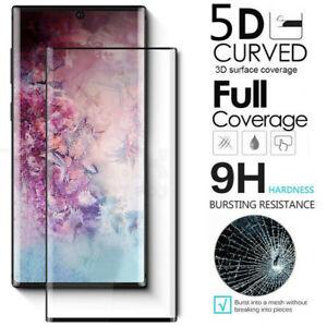 Para-10-Samsung-Galaxy-Note-Plus-5G-Full-Cover-5D-Protector-de-Pantalla-de-Vidrio-Templado