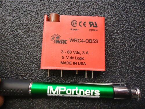 Brand New! WRC WRC4-OB5S I//O Module