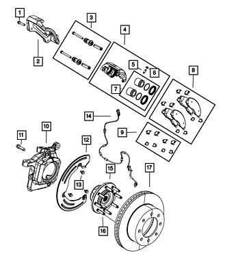 Disc Brake Pad Installation Kit-Hardware Kit Front Autopart Intl 1406-96318