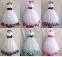 Flower Girls /Bridesmaid/Party/Princess/Prom/Wedding/Christening/Communion Dress