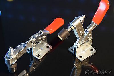 2x Spanner Halter Drücker zum Fixieren verstellbar Hebel Metall Schnellspanner