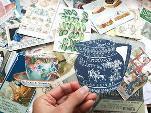 100-Vintage-Alice-in-Wonderland-Tea-Party-Ephemera-Scrapbook-Junk-Journals-Card