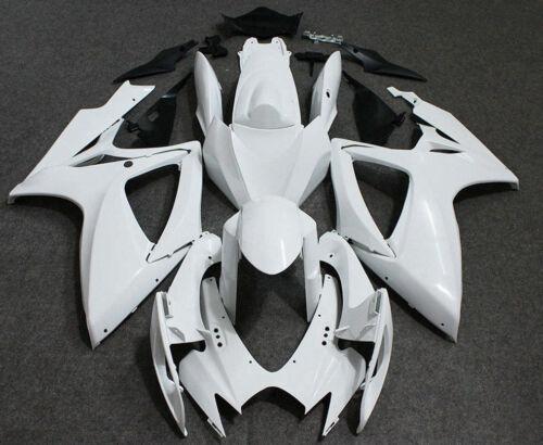 Unpainted Fairing Kit for Suzuki GSXR600 750 2006 2007 ABS Injection Bodywork