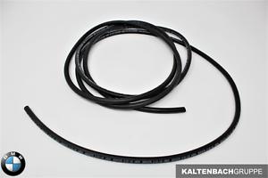 ORIGINAL BMW Unterdruckschlauch Schwarz 3,5x1,8mm (Meterware)