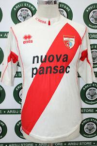 maglia-calcio-MANTOVA-BERNACCI-TG-S-shirt-maillot-trikot-camiseta-SIGNED