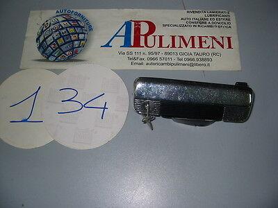 AUTOBIANCHI A-112 2° S 35-438 COPPIA MANIGLIA ESTERNA HANDLE A-112 ABARTH