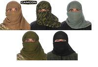 Proforce Camcon Sniper Face Veil-camo-black-desert Tan-olive-foliage
