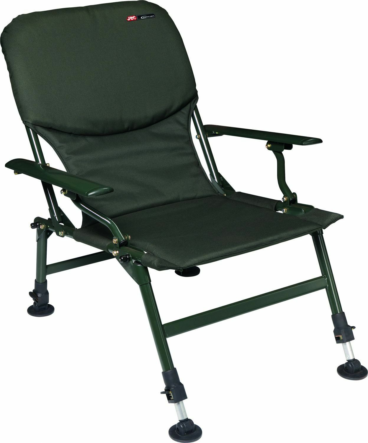JRC Contact Chair Fishing chair Fishing stool Camping chair with armrests