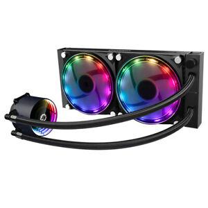 Dissipatore a Liquido Gamemax Ice Chill 240 Rainbow Rgb Support Cpu Intel Amd