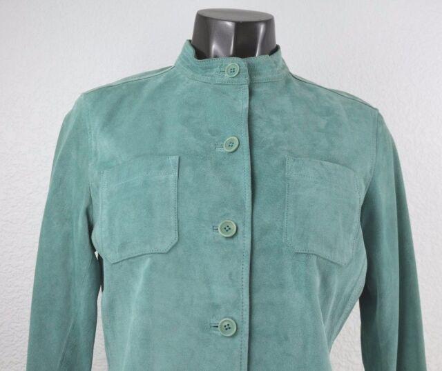 NEW Charter Club Zurch II Women's Heavy Long Sleeve Jacket Suede Size L