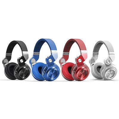 Bluedio Turbine T2S Bluetooth 4.1 Headsets  Wireless Stereo Headphones, Mic/Bass