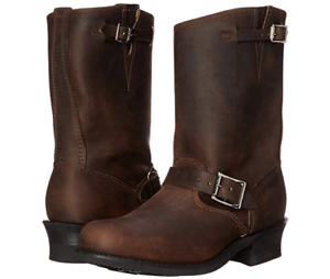 efb195f4c0414 Details about New in Box Women's Frye Boot 77400 GAU Engineer 12R Gaucho  Brown Size 9 $ 278