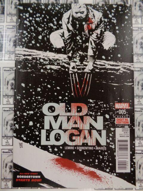 Old Man Logan (2016) Marvel - #5, Bordertown Part 1, Lemire/Sorrentino, NM