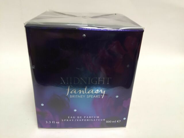 c2492b3fa FANTASY MIDNIGHT By Britney Spears Perfume Women 3.3   3.4 OZ EDP SPRAY NEW  BOX