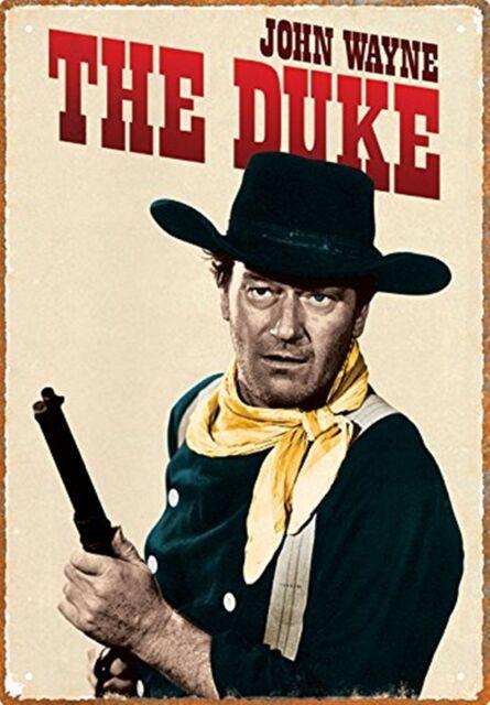 John Wayne Das Duke Metallschild nm