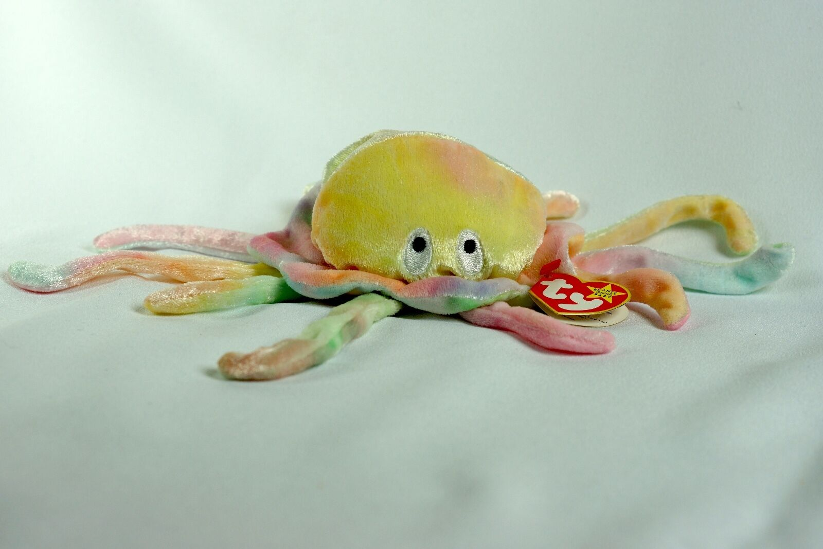 Ty mütze goochy squid w   tag fehler stofftiers selten pe neue rentner