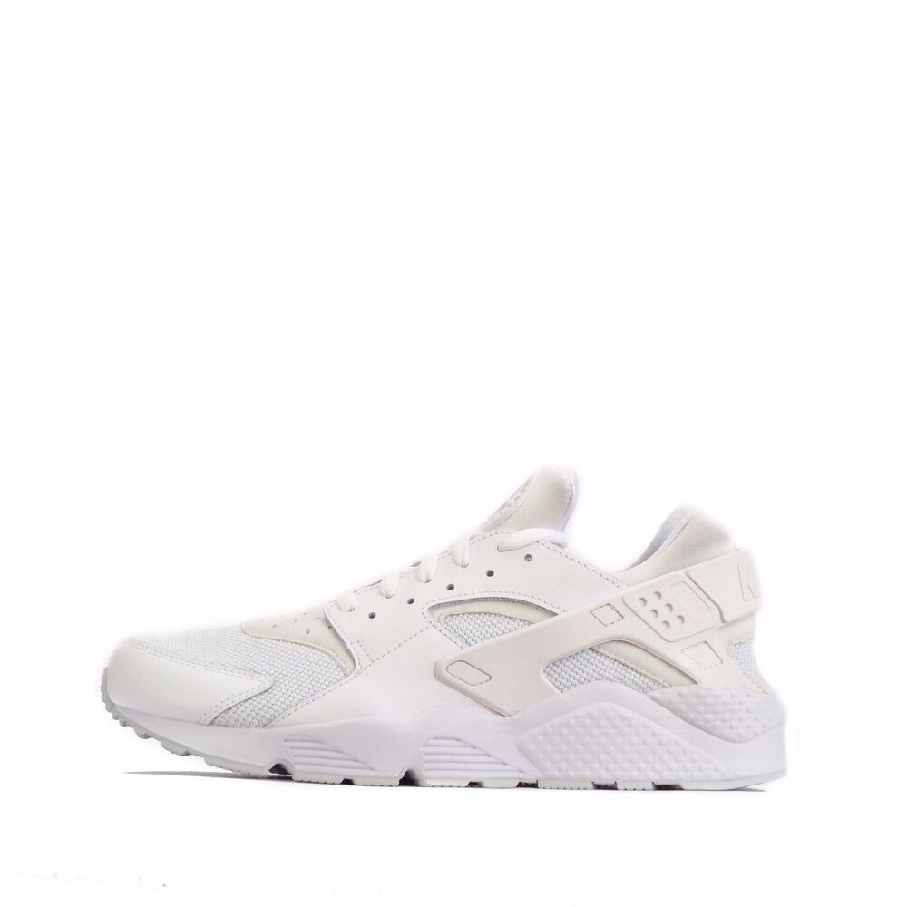 Nike Air huarache homme chaussures platine blanches / PUR platine chaussures 958488