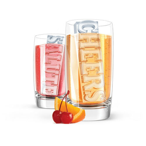 Zoku Moules en Silicone Candy Party Ice Cube moules verre plateau