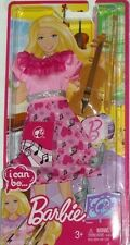 Barbie Doll I Can Be A Music Teacher Fashion Dress Outfit - Clothes Set W3753