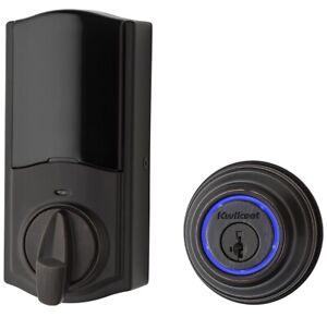 🔥BRAND NEW Kwikset Kevo 99250-203 2nd Gen Bluetooth Smart Lock Venetian Bronze