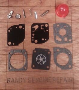 C1U-W19-REBUILD-repair-kit-CARBURETOR-carb-zama-rb-117-rb117-US-Seller