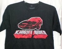 Knight Rider Kitt Hasselhoff T Shirt Large Distressed Print