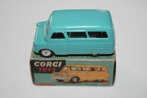 Corgi-Toys-404M-Bedford-Dormobile-personal-portador-Mecanico-principios-de-ruedas