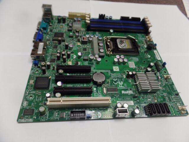 SuperMicro X8SIL, LGA 1156, Micro ATX, with Xeon X3430 and i/o shield