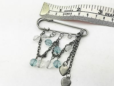 Rationeel Light Blue Quartz Wedding Bride Kilt Pin Charm Gift Love Shawl Scarf Brooch