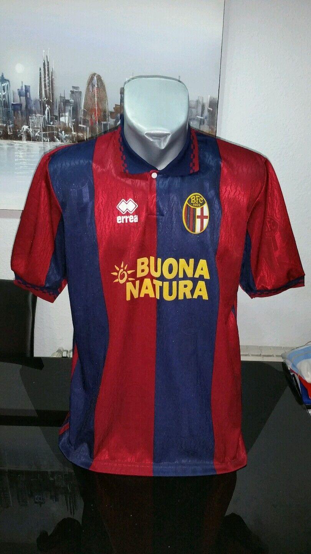 CAMISETA SHIRT MAGLIA VINTAGE ERREA BOLOGNIA FC TALLA XL
