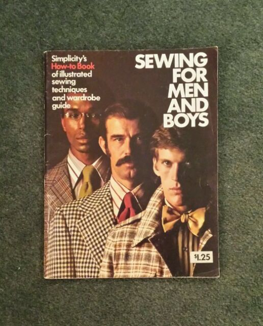 Vintage Simplicity ' How-To-Book Sewing For Men And Boys Instruction Book--NICE!