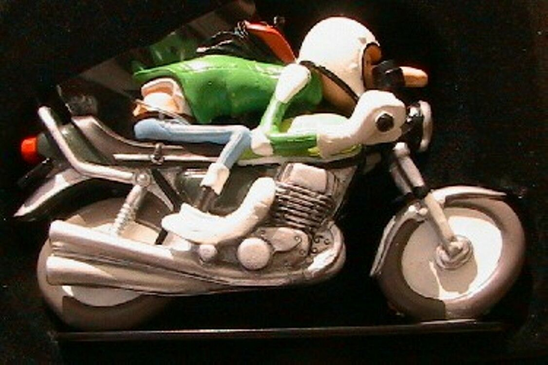 FIGURINE JOE BAR TEAM JEAN RAOUL DUCABLE DUCABLE DUCABLE KAWASAKI 750 H 1 18 MOTO BIKE RESINE 30f7bf