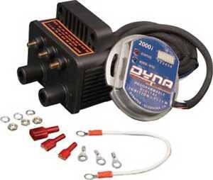 Dynatek-D2Ki-5P-2000i-Harley-Ignition-Coil-Kit-70-98-w-D2Ki-1P-amp-DC6-5-coil